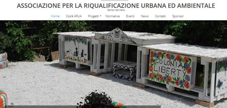 Online un nuovo sito web: arua-volontari.it