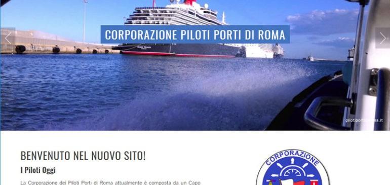 Online con un nuovo sito web: pilotiportidiroma.it
